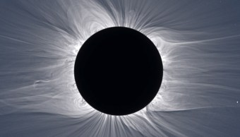 Un eclipse solar visto desde Svalbard, Noruega, el 20 de marzo de 2015 (Getty Images/archivo)