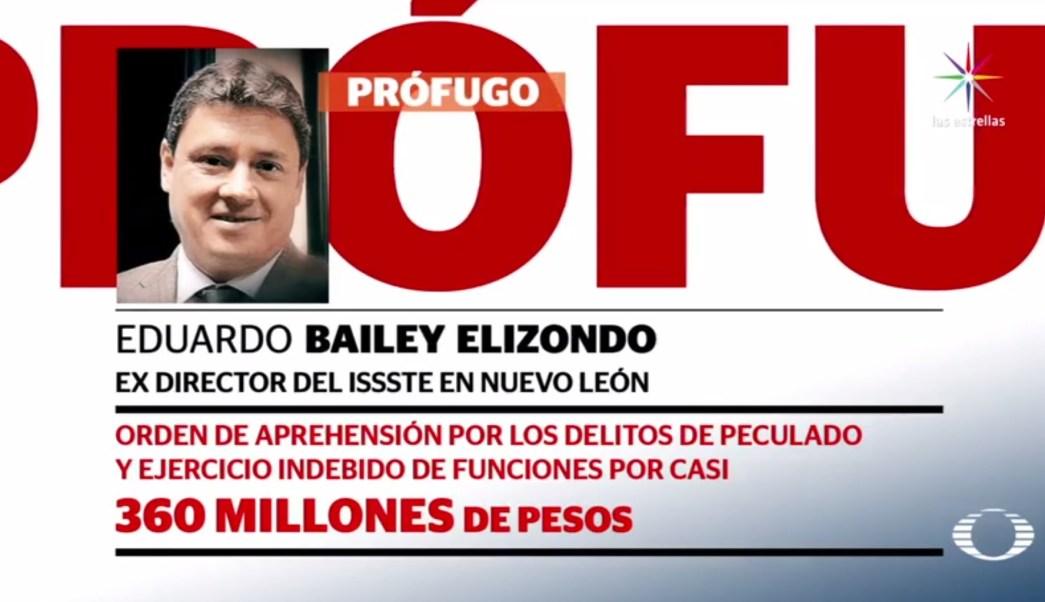 Eduardo Bailey Elizondo, prófugo, detención, nuevo león, Durango, seguridad