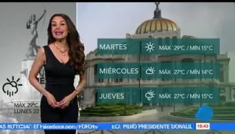 El clima, Mayte Carranco, lluvias, Coahuila
