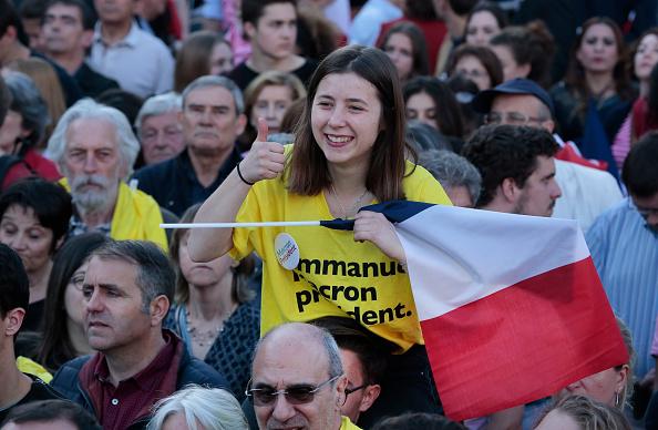 """El discurso de Emmanuel Macron ha conquistado a la llamada """"Francia de arriba"""". (Getty Images)"""