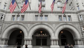 El Hotel Internacional Trump en Washington, Estados Unidos