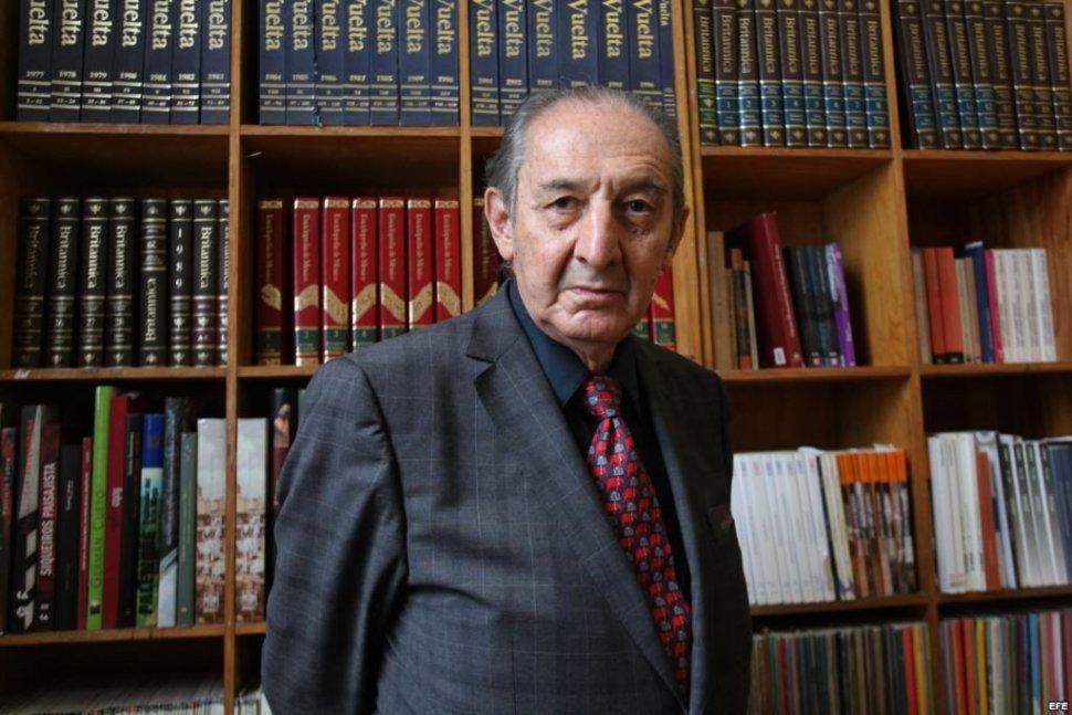 El poeta Eduardo Lizalde recibirá el Premio Internacional Carlos Fuentes