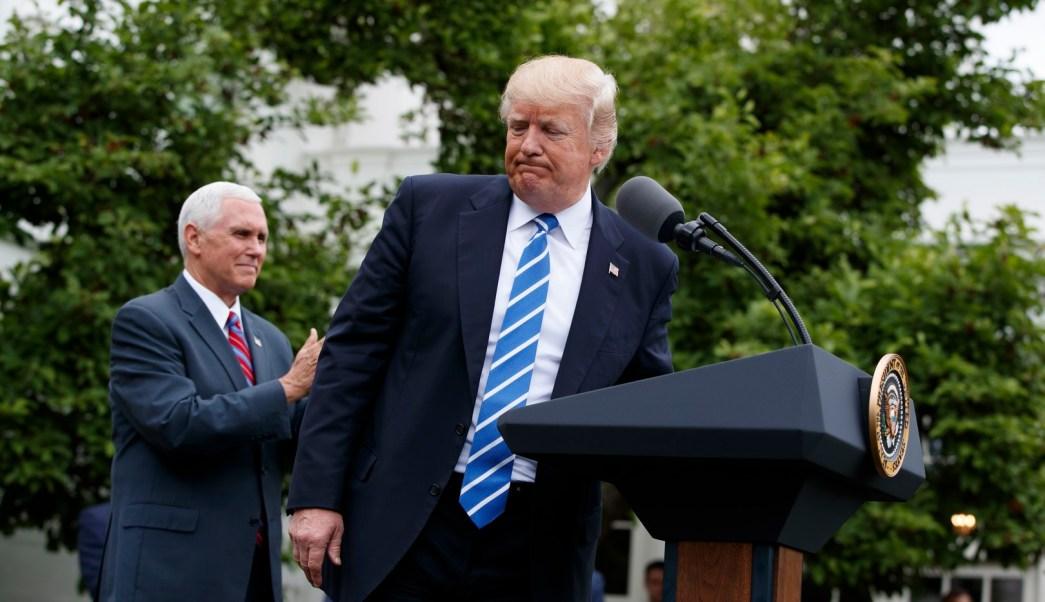 El presidente Trump hace comentarios desconcertantes sobre la Guerra Civil