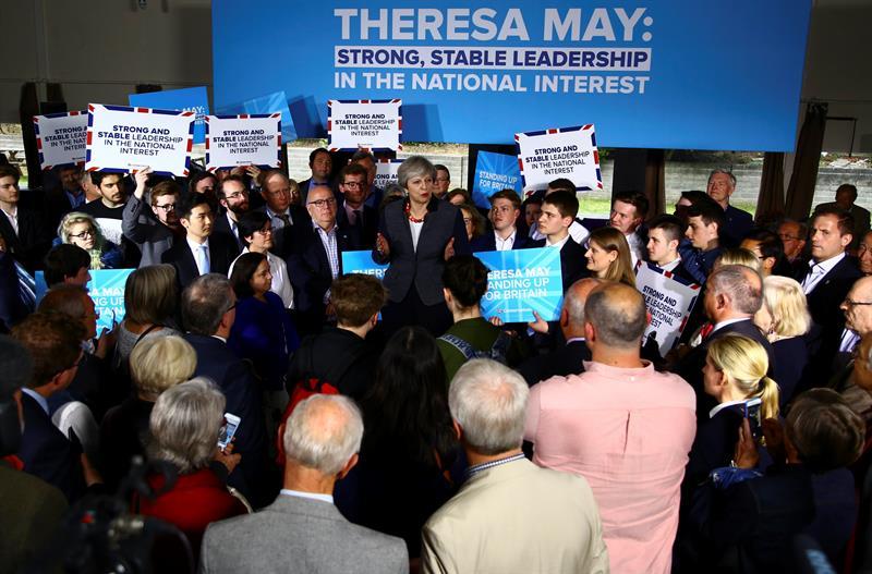 Theresa May, elecciones, Reino unido, política, conservadores, brexit