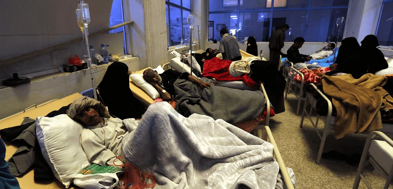 Resultado de imagen para yemen + colera