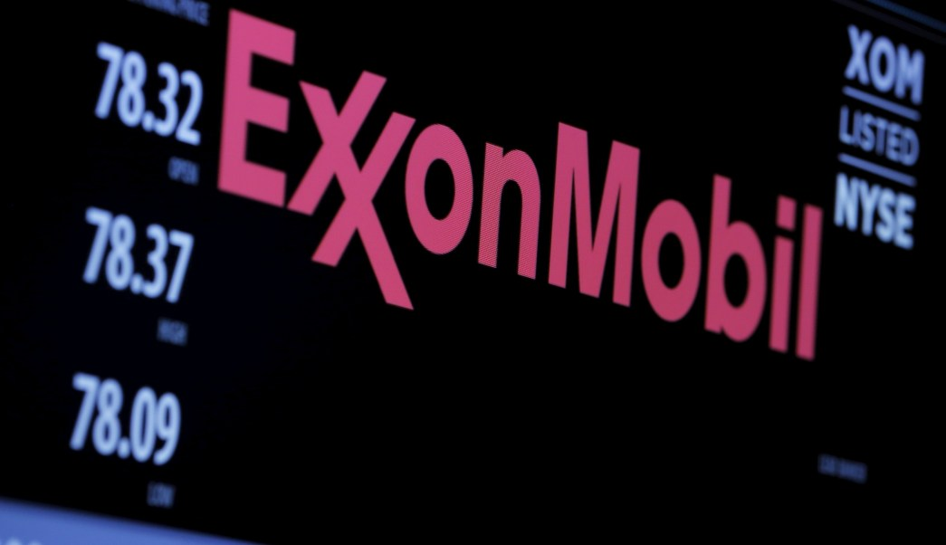 Logotipo de la empresa Exxon Mobil Corporation