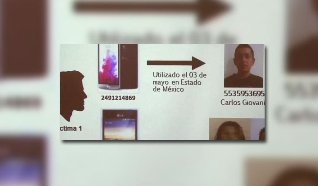 Foto de sospechoso de asalto a familia en Puebla