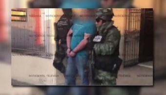 Militares y marinos detienen a varios delincuentes en Sinaloa