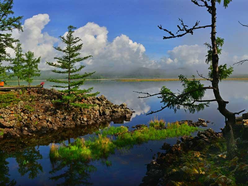 Geoparque Arxan de China, reconocido por Unesco