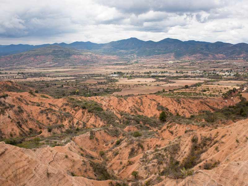 Ruta del geoparque Mixteca Alta en Oaxaca (Unesco)
