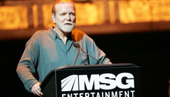 cantante de rock, Gregg Allman, Beacon Theatre, Nueva York.