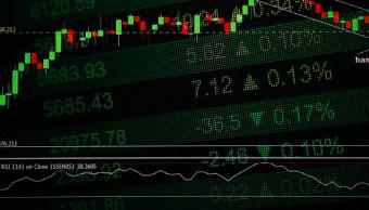 Tablero electrónico muestra resultados de las Bolsas europeas