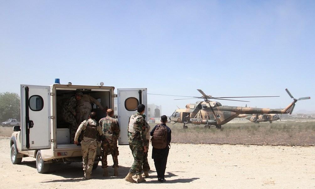 Enfrentamientos en la ciudad de Ghazni y en los distritos de Waghaz y Deh Yak, Afganistán (EFE)