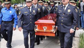 Policia, Sspcdmx, Homenaje, Almeida, Noticias, Noticieros Televisa