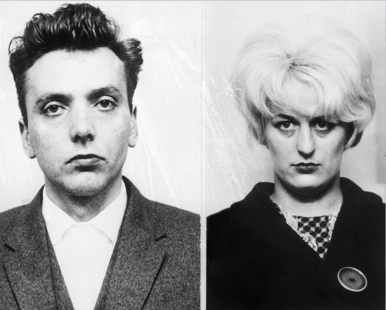 Ian Brady y su cómplice Myra Hindley
