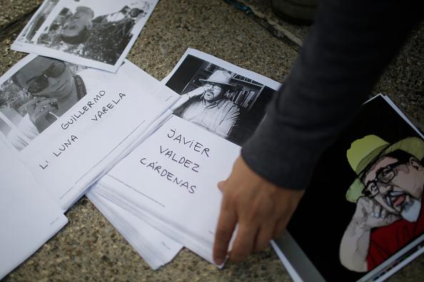 Imagen del periodista Javier Valdez, asesinado en sinaloa