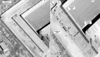 Estados Unidos denuncia enorme crematorio en Siria