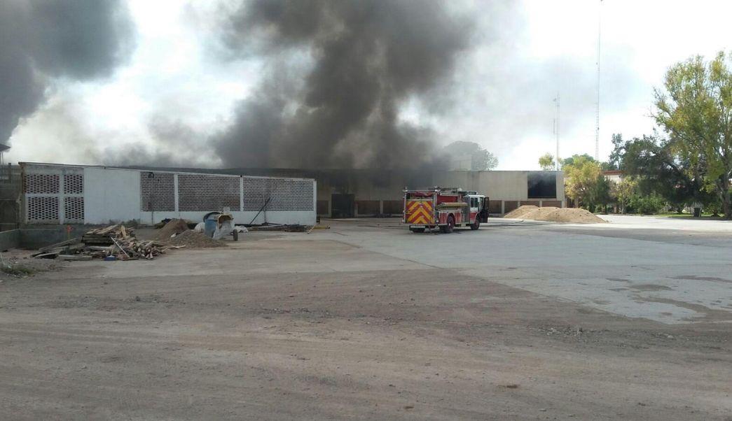 Incendio, fábrica, electrodomésticos, Irapuato, Guanajuato, emergencia