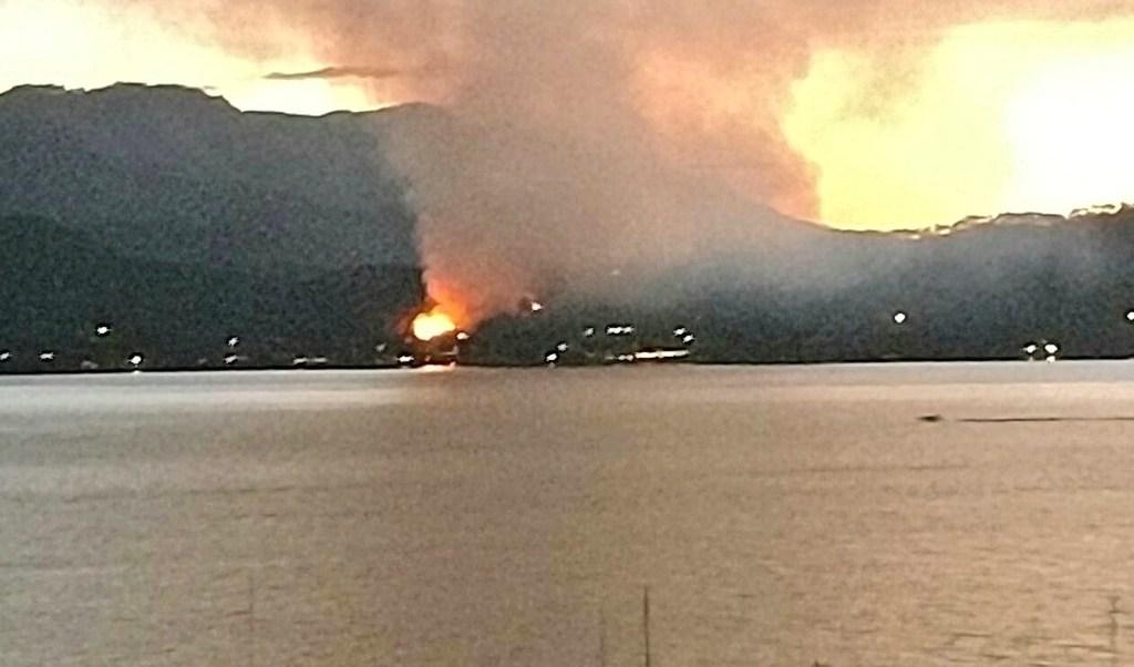 Incendio forestal, valle de bravo, estado de méxico, clima, bosque, bomberos
