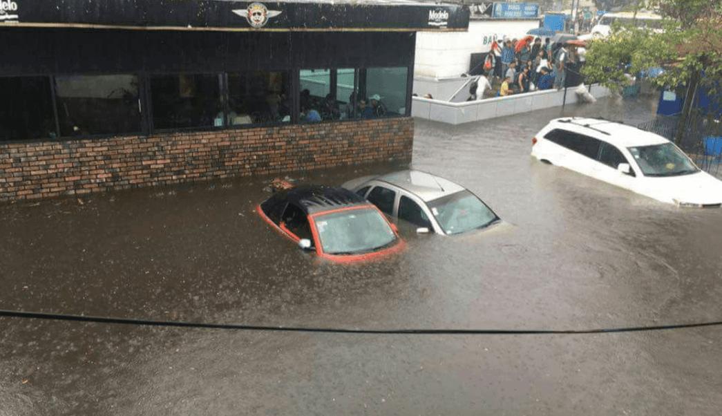 Metro Copilco, Lluvias metro copilco, inundaciones metro, Metro cdmx