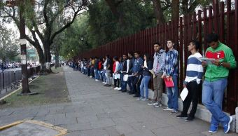 """El examen se realizó en diversos planteles de la Unidad Profesional """"Adolfo López Mateos"""", Zacatenco (Twitter @IPN_MX)"""