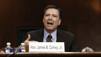 James Comey director FBI comparece ante el Comité Judicial del Senado