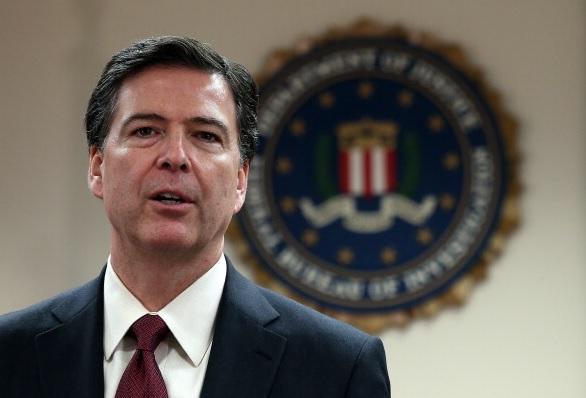Comey envía una carta de despedida a su equipo del FBI