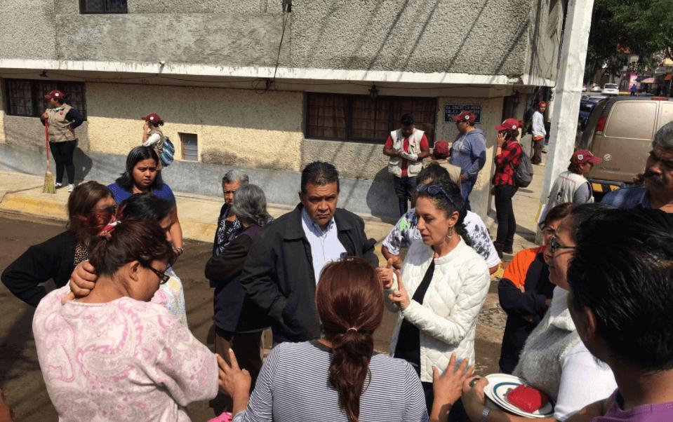Jefa delegacional en Tlalpan, Claudia Sheinbaum