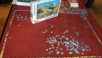 Un rompecabezas armado de hasta 10 mil piezas puede alcanzar un precio de 60 mil pesos. (Getty Images, archivo)