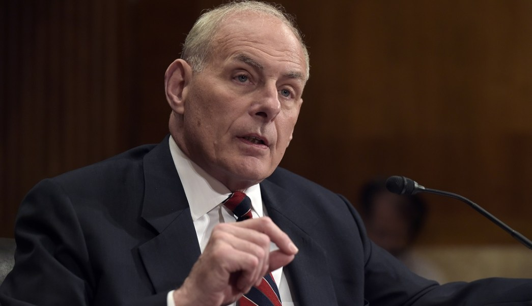 John Kelly, secretario, Seguridad Interna, Estados Unidos