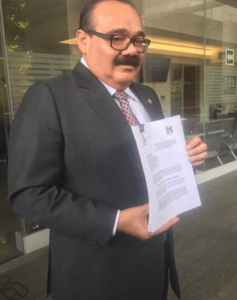 Jorge Carlos Ramírez Marín, representante del PRI ante el INE