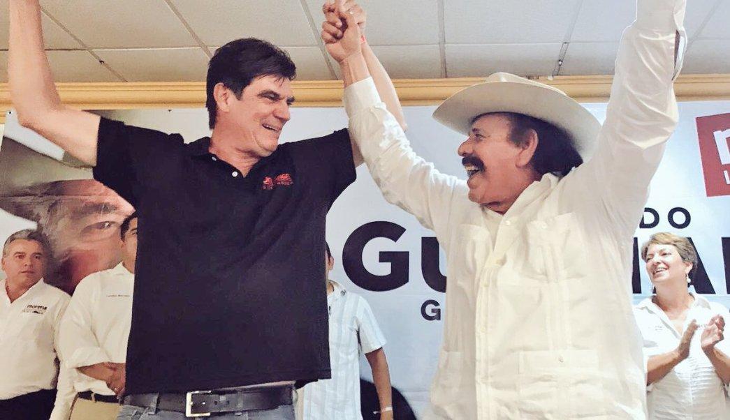 José Ángel Pérez Hernández, Armando Guadiana, PT, Morena, Coahuila, política