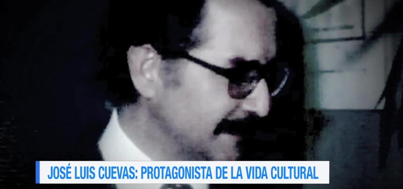 José Luis Cuevas, protagonista de la vida cultural