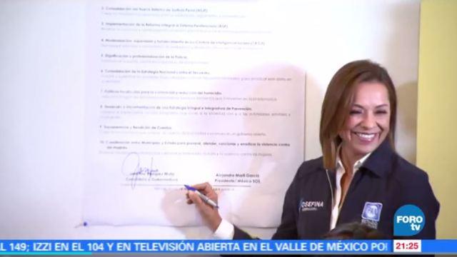 noticias, forotv, Josefina Vázquez Mota, visita, Ecatepec, gubernatura del Estado de México