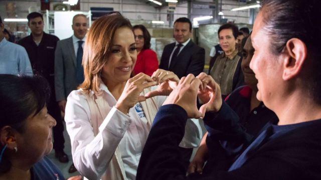 Josefina Vázquez Mota, candidata del PAN al gobierno del Edomex