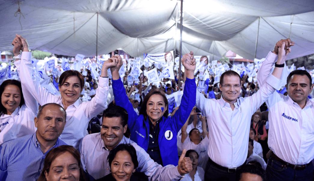 Josefina Vázquez Mota, candidata del PAN