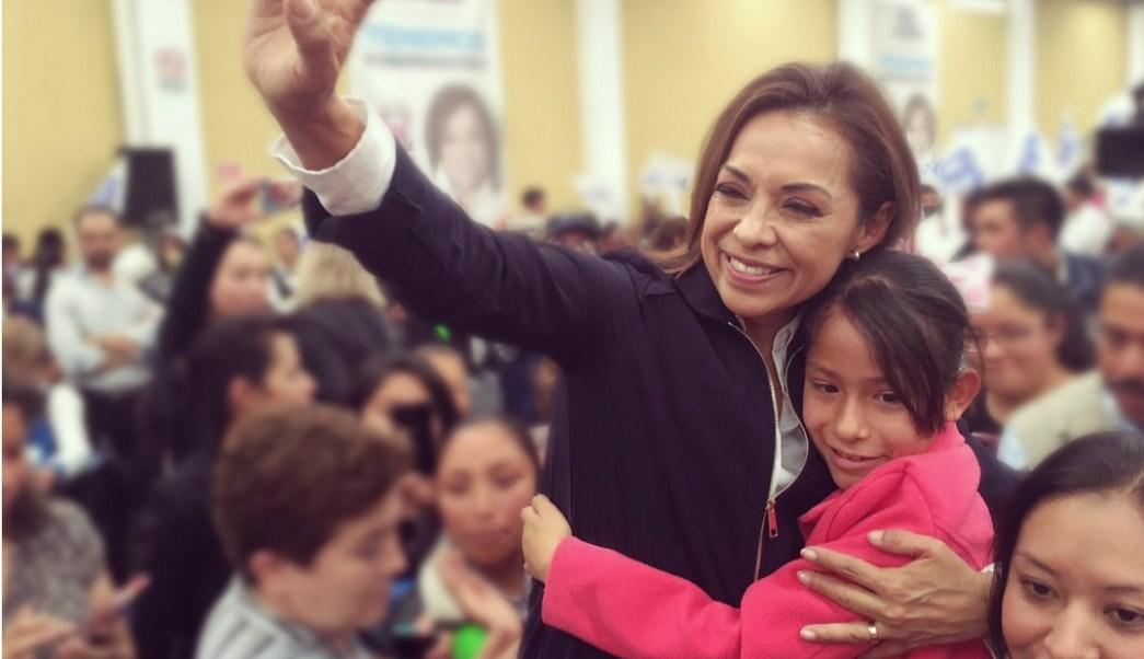 Josefina Vázquez Mota celebró en Toluca el Día de las Madres