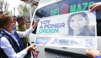Josefina Vázquez Mota, PAN, INE, elecciones Edomex, Estado de México, política