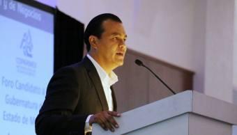 Juan Zepeda, candidato del PRD, visitó Naucalpan y Tlalnepantla