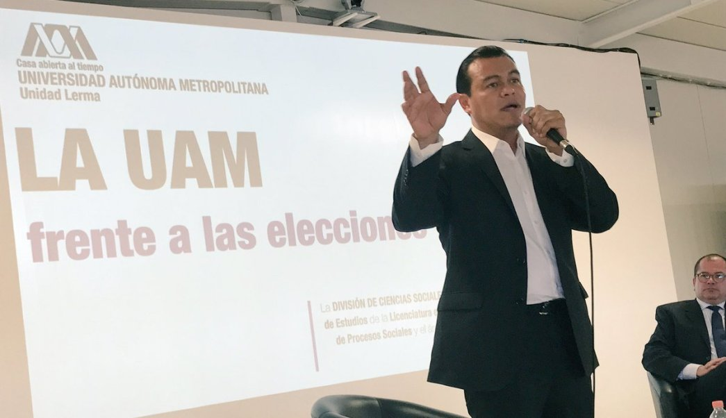 Juan zepeda, prd, estado de México, elecciones, 4 de junio, uam