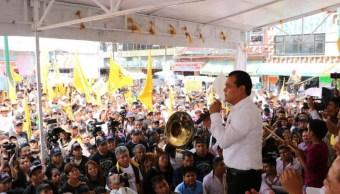 Juan Zepeda, candidato del PRD al gobierno del Estado de México