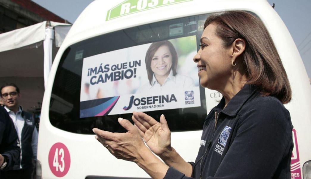 La candidata panista realizó gira por Naucalpan, Tlalnepantla y Cuautitlán Izcalli