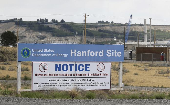 central nuclear de Hanford en el estado de Washington