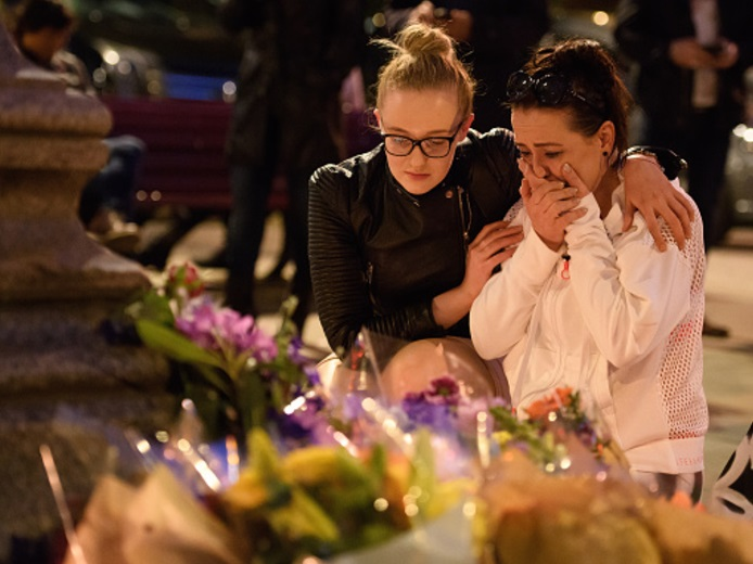 Tributos florales en Manchester (Getty Images)