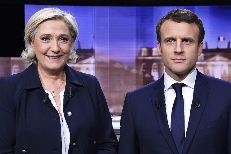 Marine Le Pen, Emmanuel Macron, presidencia, francia, eleciones, segunda vuelta, urnas