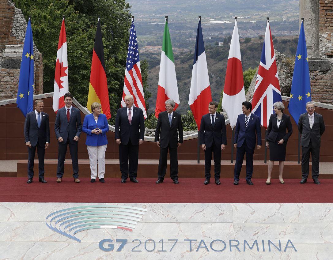 El G7 firma en Taormina declaración de lucha contra el terrorismo