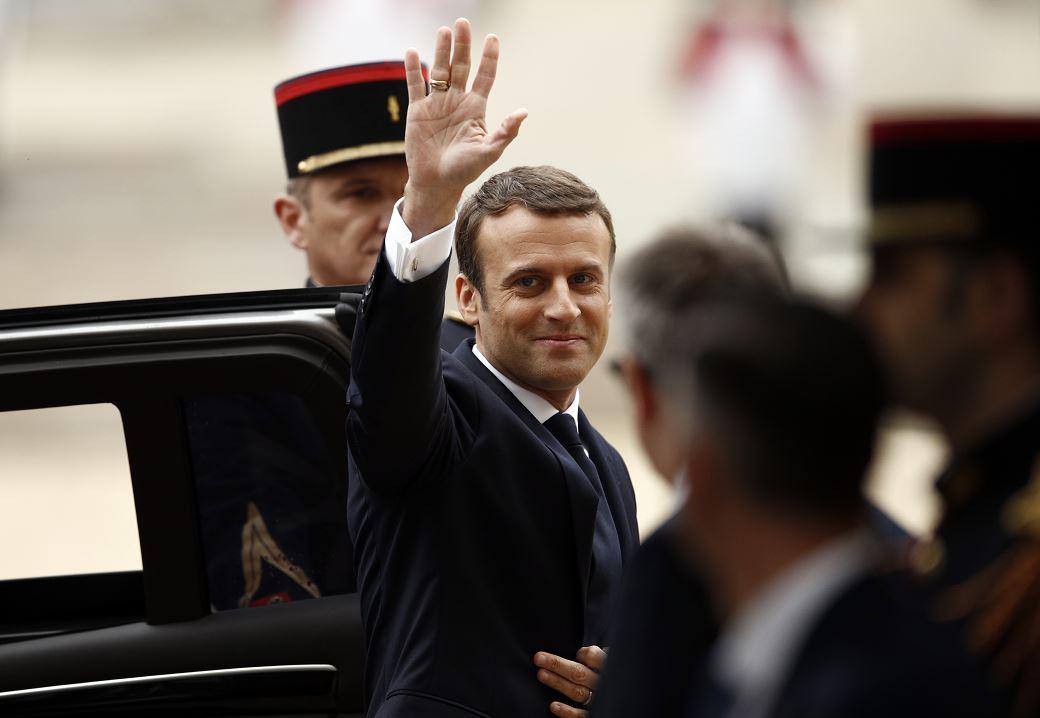 Francia emmanuel macron presidente francois hollande palacio del eliseo elecciones