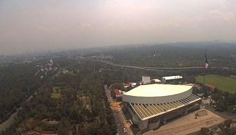 La calidad del aire es mala en cinco municipios del Estado de México y en dos delegaciones de la CDMX. (Twitter/@webcamsdemexico)