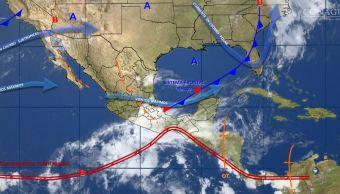 mapa del clima del 25 de mayo