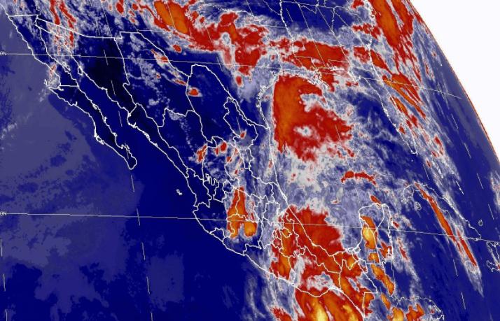 mapa satelital, tormenta tropical 2-e, lluvias, Oaxaca, Guerrero